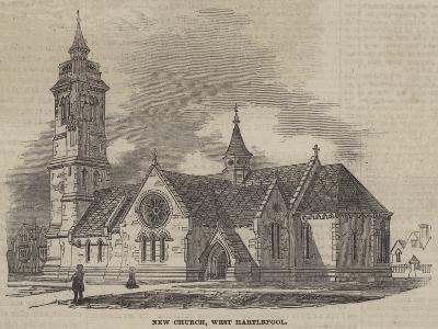 New Church, West Hartlepool--Giclee Print