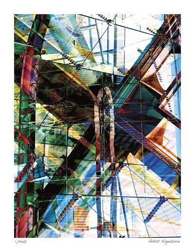 New City Dome-Stephen Donwerth-Giclee Print