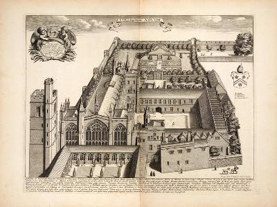New College, Plate 19 from 'Oxonia Illustrata', Oxford 1675--Giclee Print