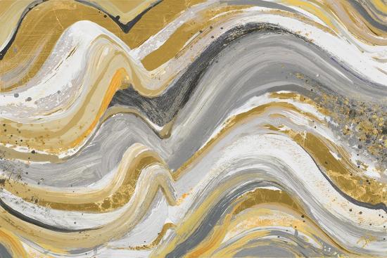 New Concept Mustard Gray-Patricia Pinto-Art Print