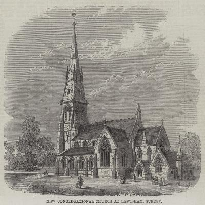 New Congregational Church at Lewisham, Surrey--Giclee Print