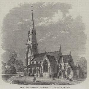 New Congregational Church at Lewisham, Surrey