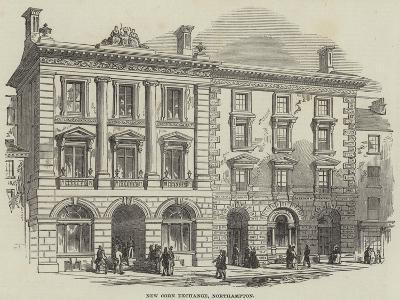 New Corn Exchange, Northampton--Giclee Print