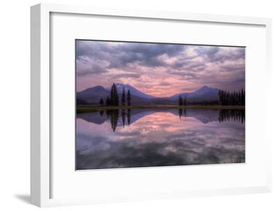 New Day at Spark's Lake, Bend Oregon-Vincent James-Framed Photographic Print