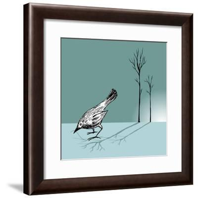 New Day-Bodhi Hill-Framed Photographic Print