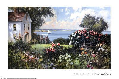 New England Garden-Paul Landry-Art Print