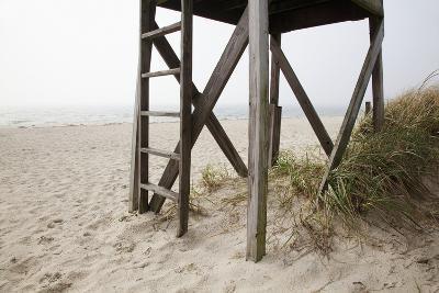 New England, Massachusetts, Cape Cod, Close Up of an Abandoned Lifeguard Station on Beach-Design Pics Inc-Photographic Print