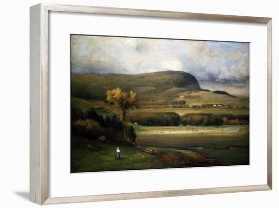 New England Valley, 1878-John James Audubon-Framed Premium Giclee Print
