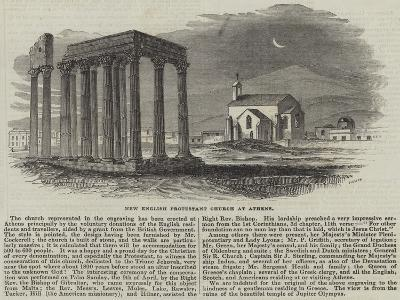 New English Protestant Church at Athens--Giclee Print