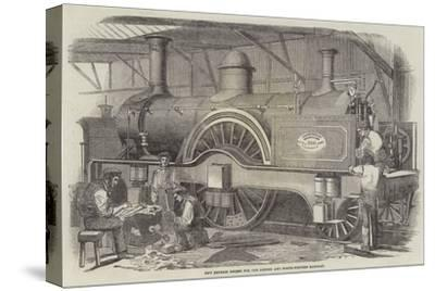 New Express Engine for the London and North-Western Railway