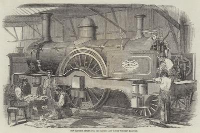 New Express Engine for the London and North-Western Railway--Giclee Print
