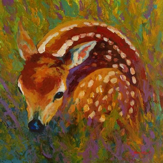 New Fawn-Marion Rose-Giclee Print