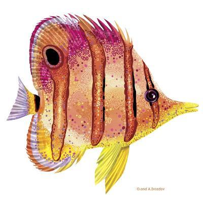 New Fish 4-Olga And Alexey Drozdov-Giclee Print