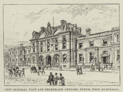 New General Post and Telegraph Offices, Perth, West Australia-Frank Watkins-Giclee Print