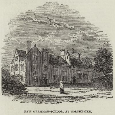New Grammar-School, at Colchester--Giclee Print