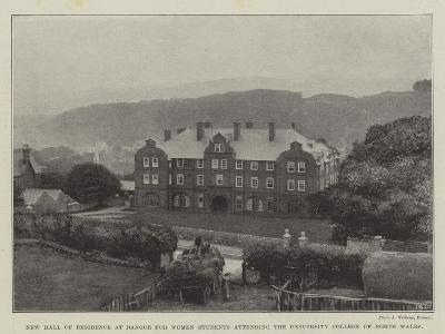 New Hall of Residence at Bangor for Women Students Attending the University College of North Wales--Giclee Print