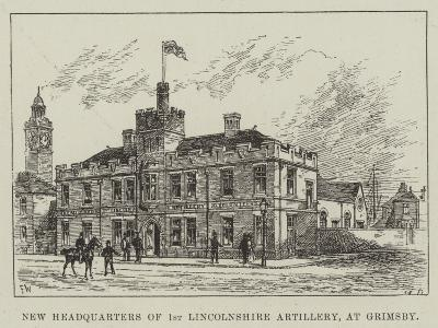 New Headquarters of 1st Lincolnshire Artillery, at Grimsby-Frank Watkins-Giclee Print