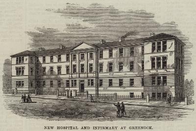 New Hospital and Infirmary at Greenock--Giclee Print