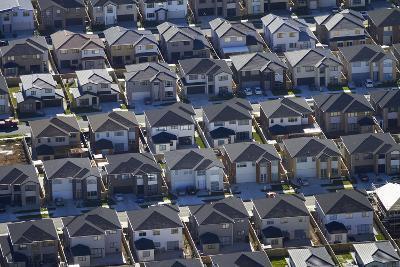 New Housing Development, Flat Bush, Auckland, North Island, New Zealand-David Wall-Photographic Print