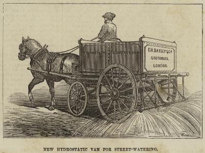 New Hydrostatic Van for Street-Watering--Giclee Print