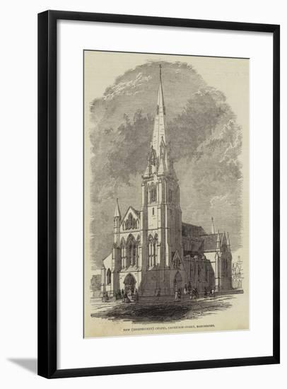 New (Independent) Chapel, Cavendish-Street, Manchester--Framed Giclee Print