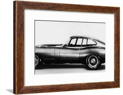 New Jaguar Car Will Be Presented for the First Time in Geneva Car Fair March 16, 1961--Framed Photo