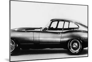 New Jaguar Car Will Be Presented for the First Time in Geneva Car Fair March 16, 1961