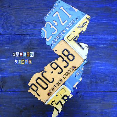 New Jersey-Design Turnpike-Giclee Print