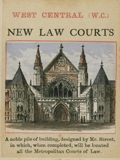 New Law Courts--Giclee Print