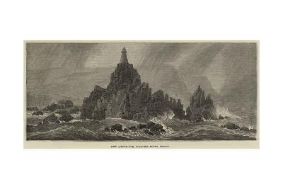 New Lighthouse, Corbiere Rocks, Jersey--Giclee Print