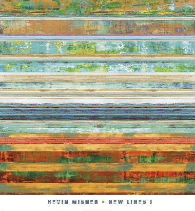 New Lines 1-Kevin Misner-Art Print