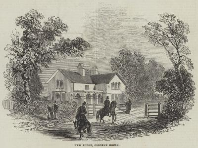 New Lodge, Osborne House--Giclee Print
