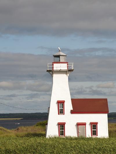 New London Lighthouse, New London, Prince Edward Island, Canada, North America-Michael DeFreitas-Photographic Print