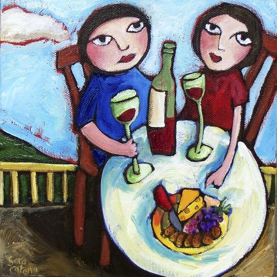New Love-Sara Catena-Giclee Print