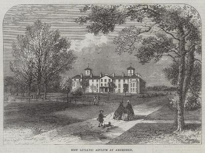 New Lunatic Asylum at Aberdeen--Giclee Print