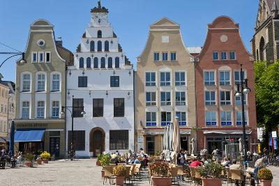 New Market Square, Rostock, Germany-Peter Adams-Photographic Print