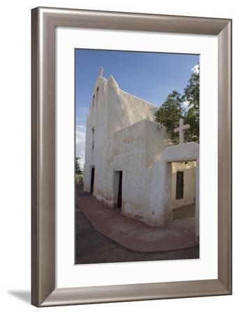 New Mexico, Laguna Mission. Mission San Jose De La Laguna-Luc Novovitch-Framed Photographic Print