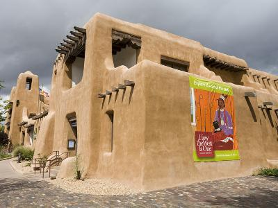 New Mexico Museum of Art, Santa Fe, New Mexico, United States of America, North America-Richard Cummins-Photographic Print