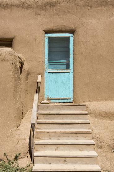 New Mexico. Taos Pueblo, Architecture Style from Pre Hispanic Americas-Luc Novovitch-Photographic Print
