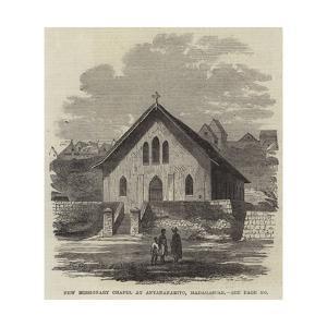 New Missionary Chapel at Antananarivo, Madagascar