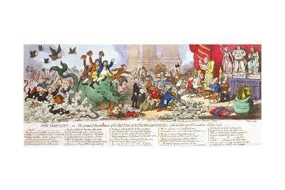 New Morality-James Gillray-Giclee Print