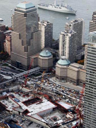 New Navy Assault Ship USS New York, Built with World Trade Center Steel