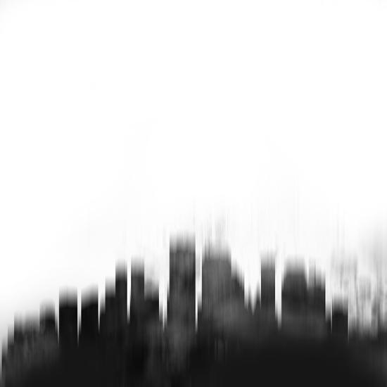 New Orleans City Skyline - Black Art Print by NaxArt   Art com