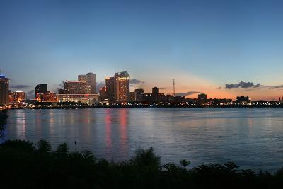 New Orleans Cityscape at Sunset-jpegisclair-Photographic Print