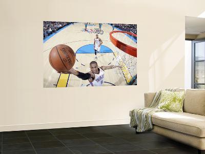 New Orleans Hornets v Oklahoma City Thunder: Russell Westbrook-Layne Murdoch-Giant Art Print