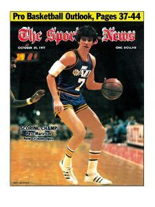 New Orleans Jazz Pete Maravich - October 29, 1977