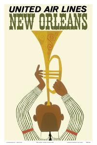New Orleans - Jazz Trumpet Player - United Air Lines