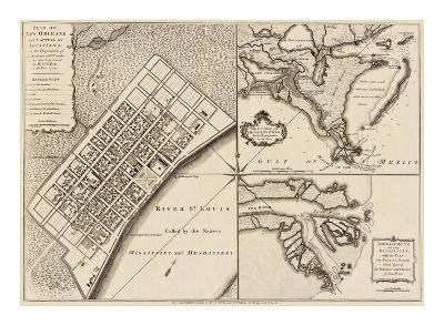 New Orleans, Louisiana, c.1759-Thomas Jefferys-Art Print