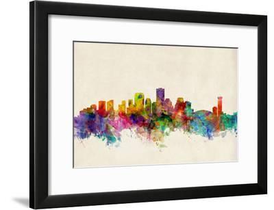 New Orleans Louisiana Skyline-Michael Tompsett-Framed Art Print