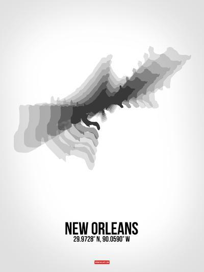 New Orleans Radiant Map 4-NaxArt-Art Print